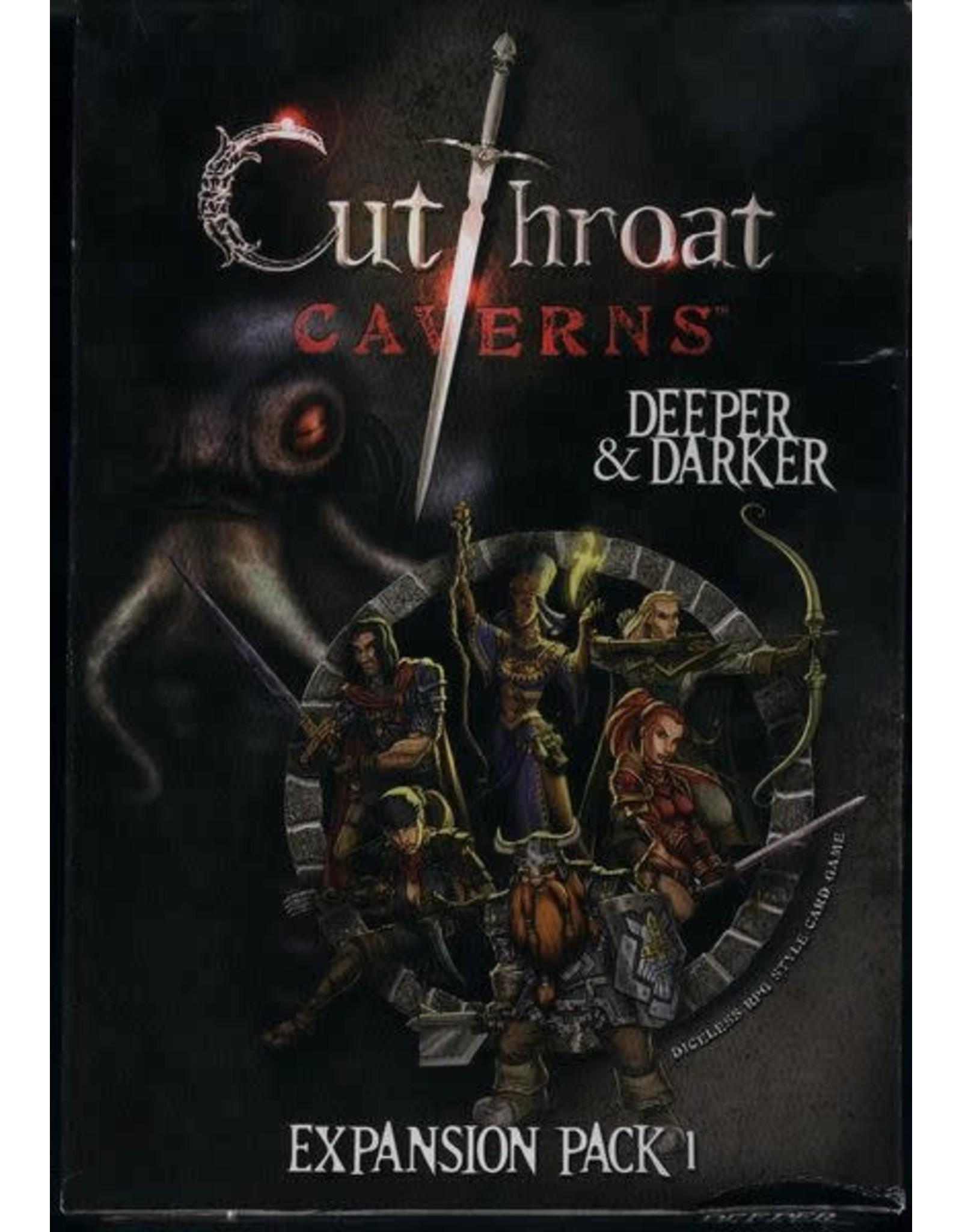 Smirk & Dagger Cutthroat Caverns: Deeper & Darker Expansion