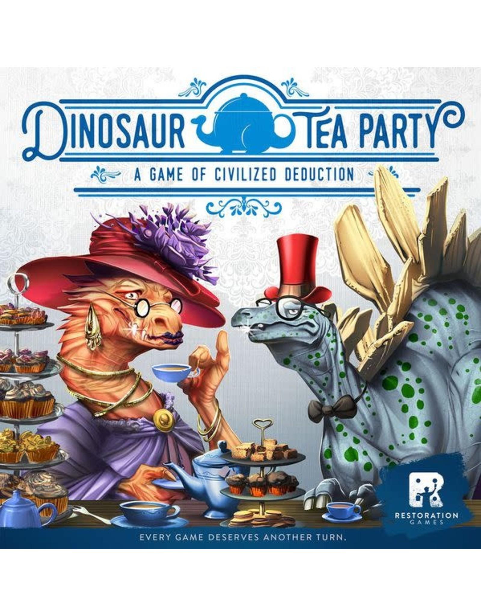 Restoration Games Dinosaur Tea Party