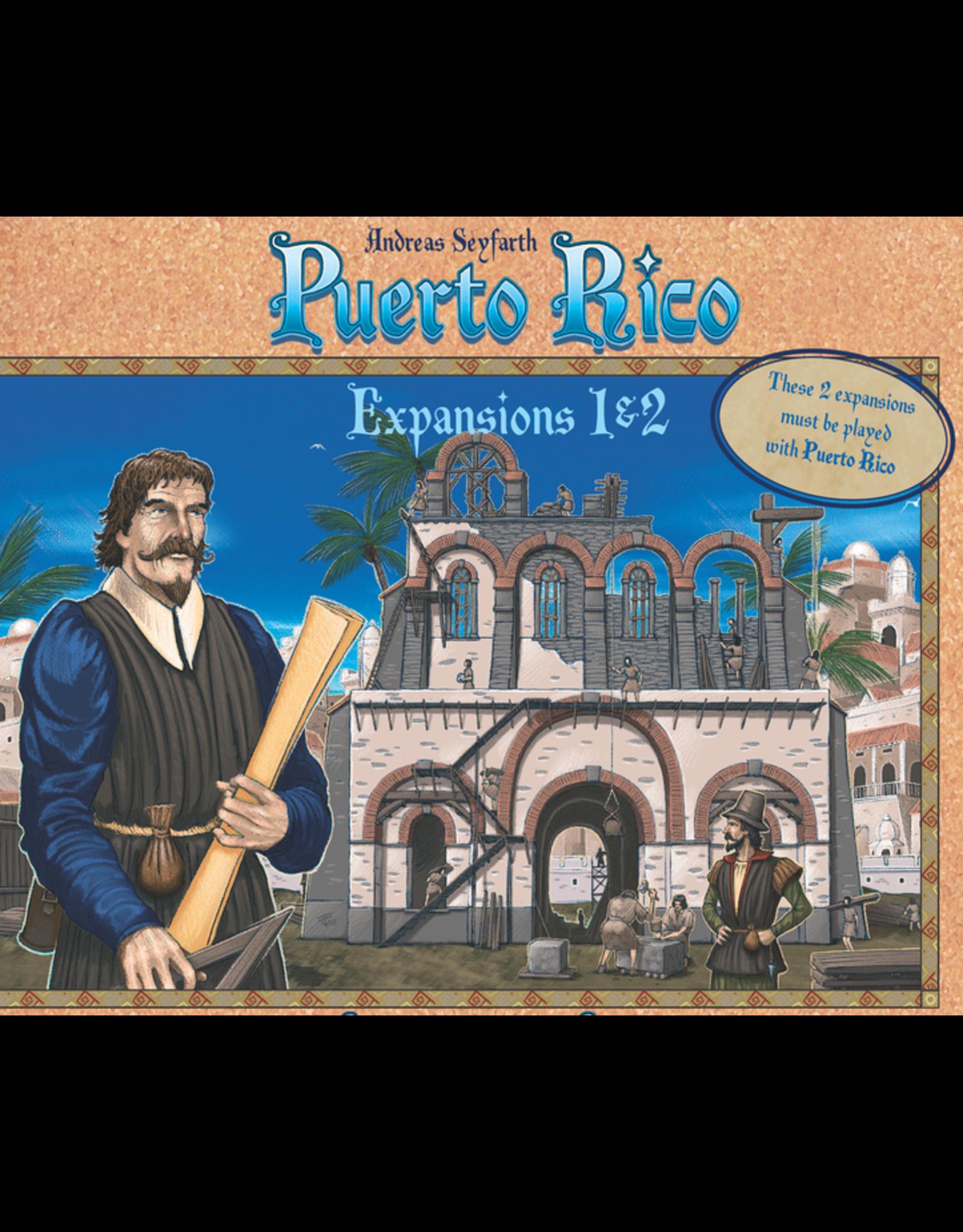 Rio Grande Games Puerto Rico: Expansions 1 & 2