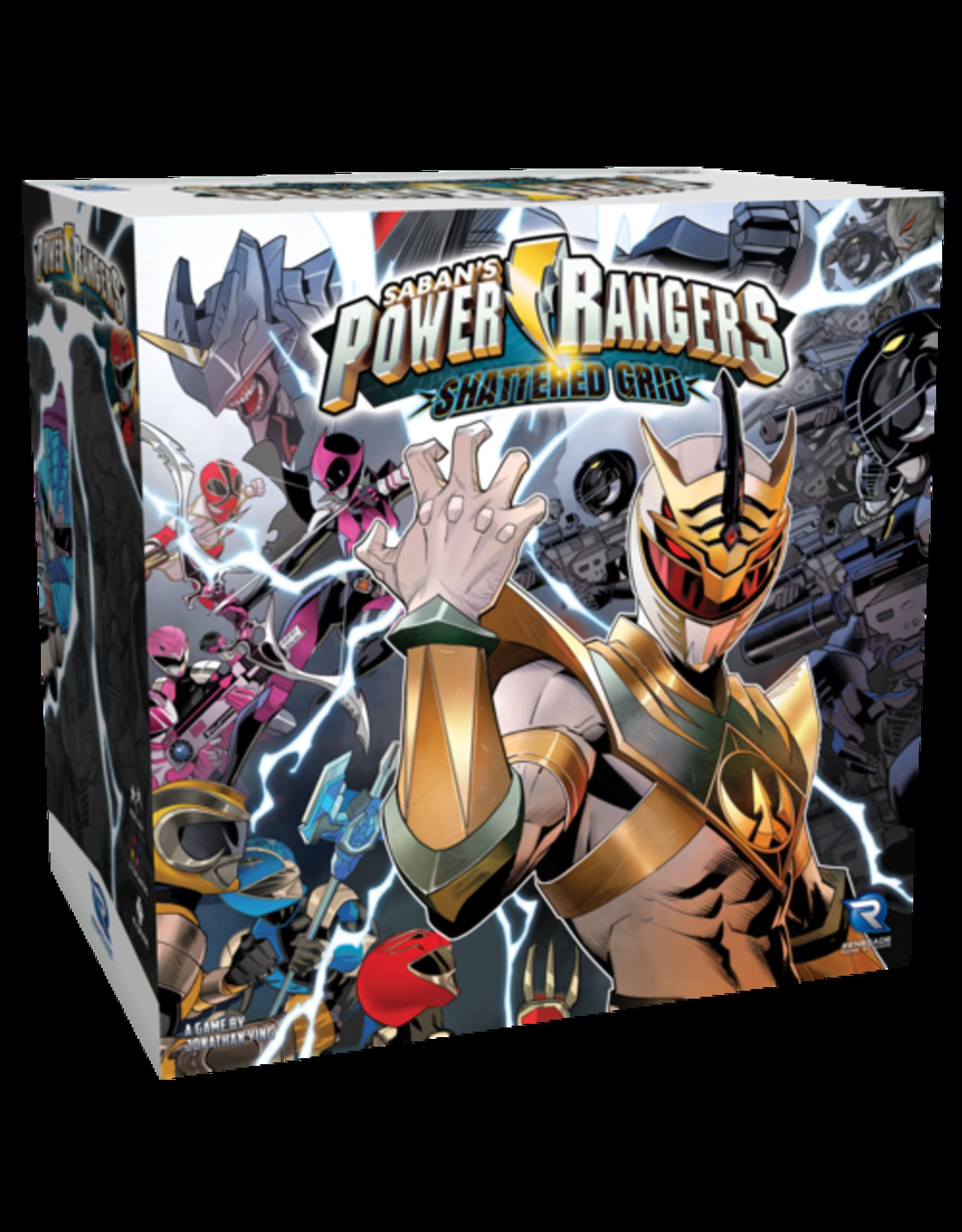 Renegade Game Studios Power Rangers: Shattered Grid Expansion
