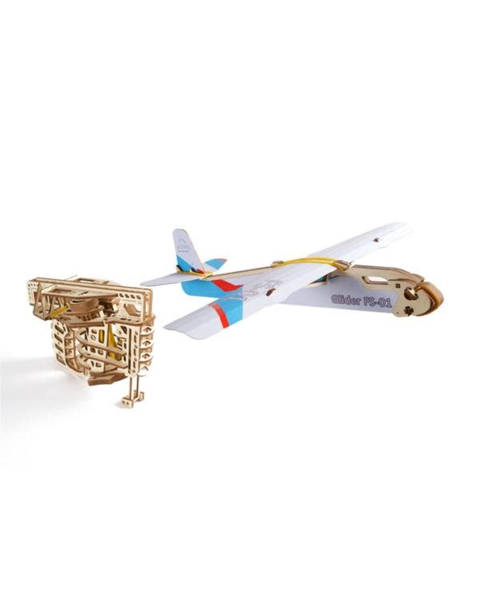 UGears Flight Starter Wood Model
