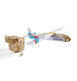UGears Flight Starter Wood Model