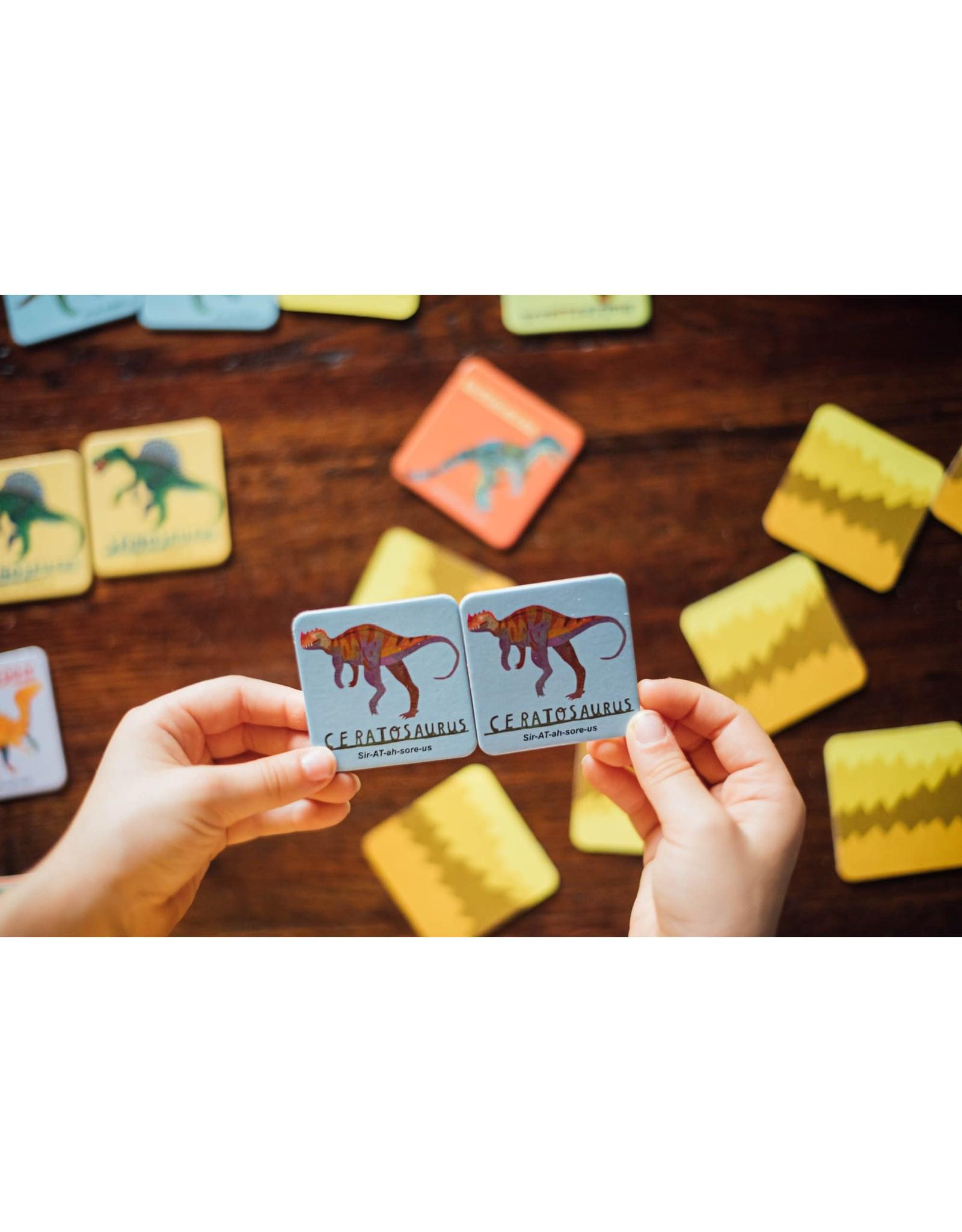 eeBoo Dinosaurs Memory & Matching Game
