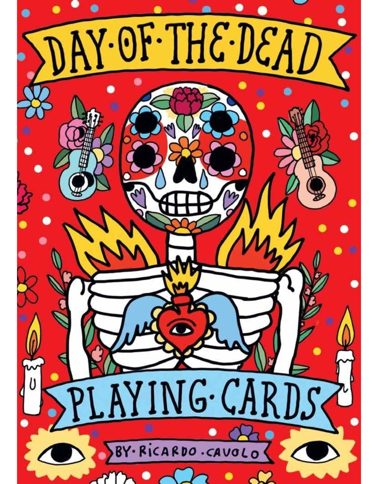 Galison Day of the Dead Playing Cards