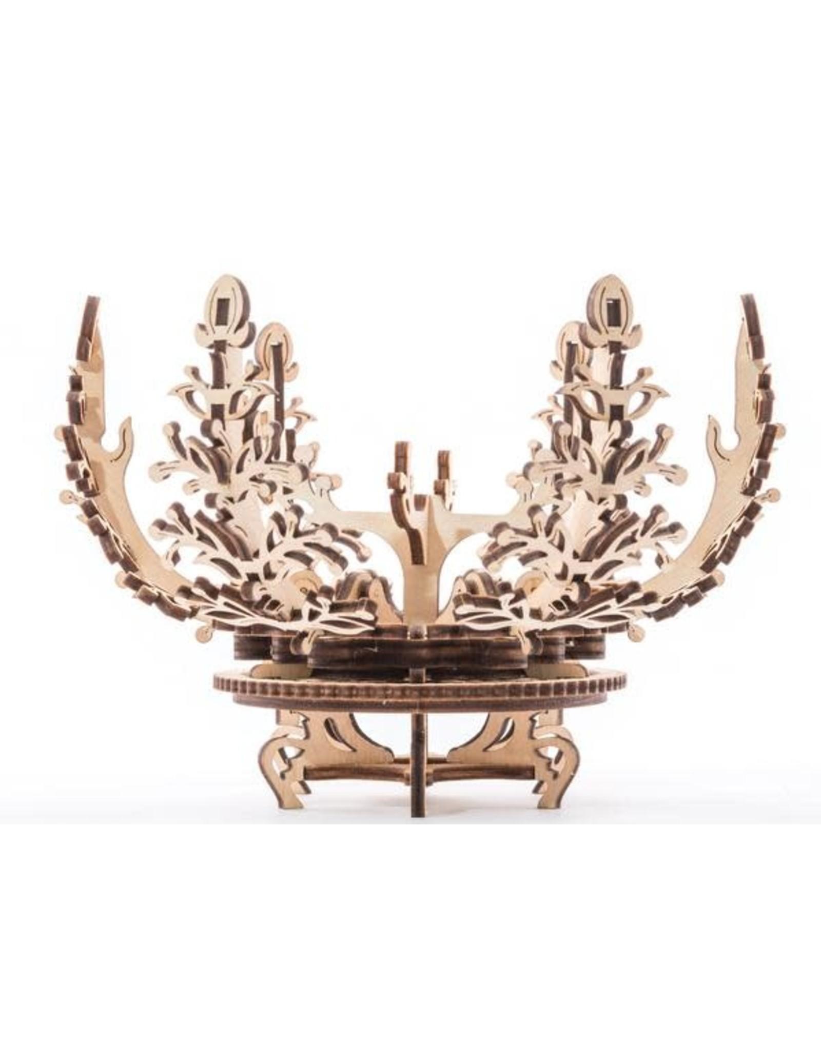 UGears Mechanical Flower Wood Model