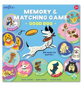 eeBoo Good Dog Memory & Matching Game