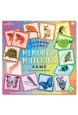 eeBoo Rainbow Planet Memory & Matching Game