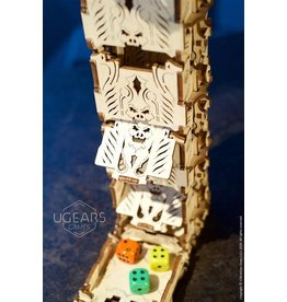 UGears Modular Dice Tower Wood Model