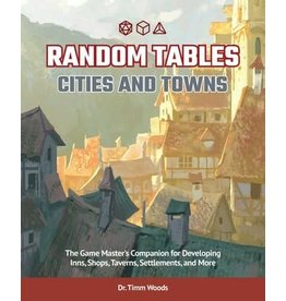 Simon & Schuster Random Tables: Cities and Towns
