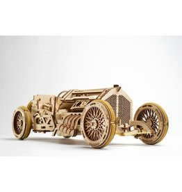 UGears U-9 Grand Prix Car Wood Model