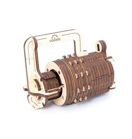 UGears Combination Lock Wood Model