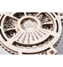 UGears Date Navigator Wood Model