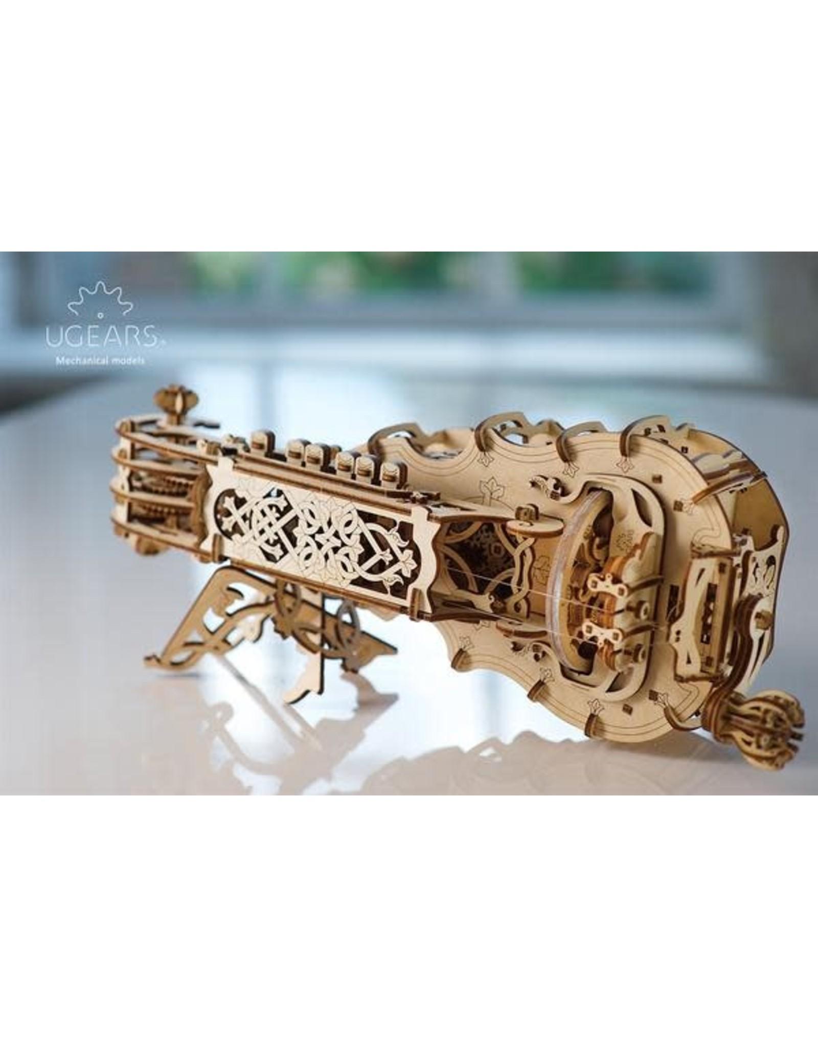 UGears Hurdy-Gurdy Wood Model
