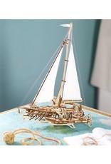 UGears Trimaran Merihobus Wood Model