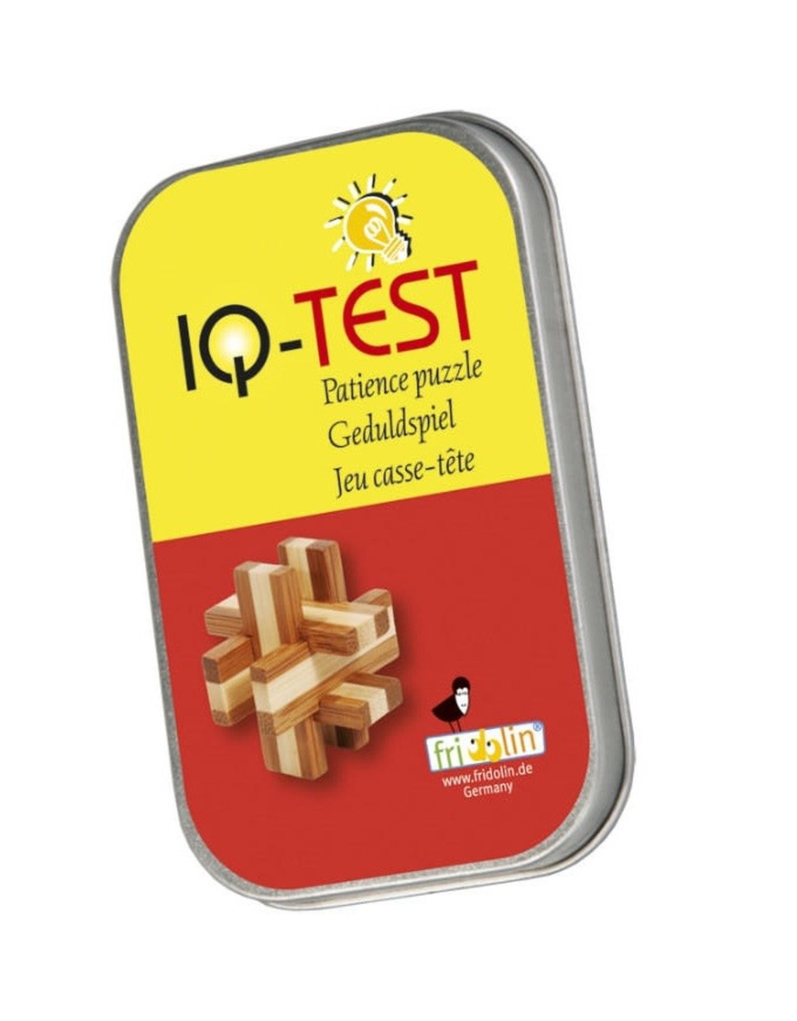 Fridolin IQ Test: Small Bamboo Puzzle