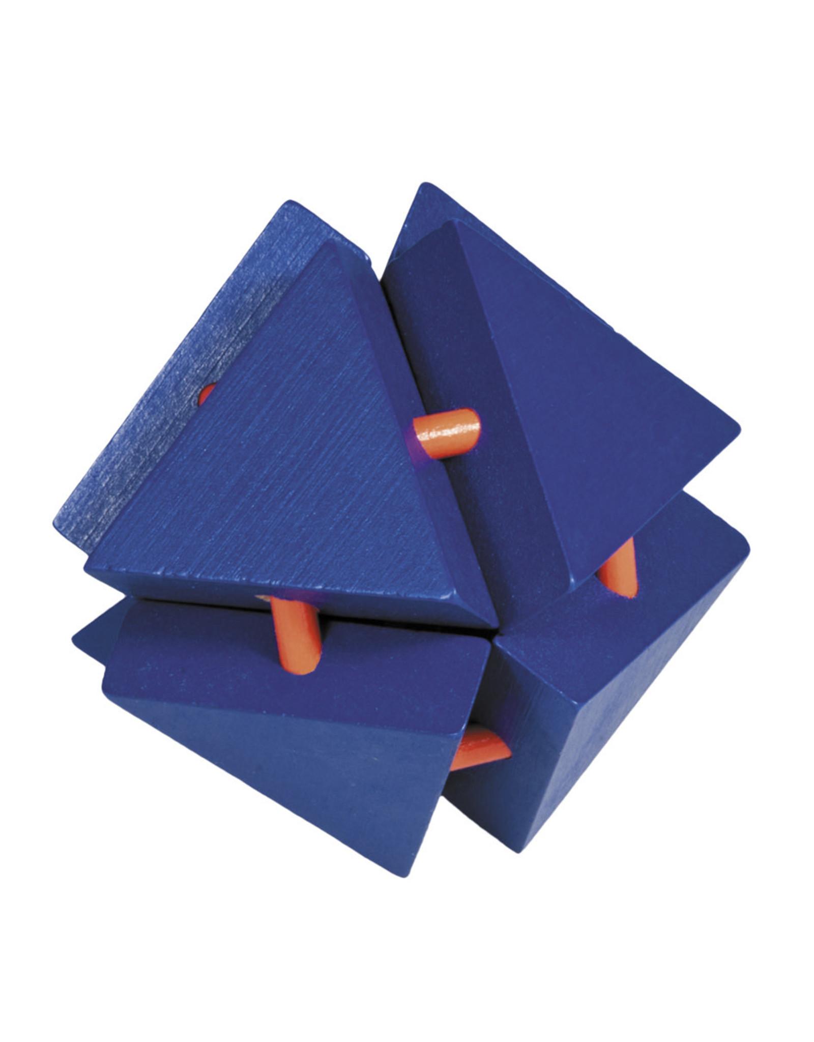 Fridolin IQ Test: Large Colorful Bamboo Puzzles