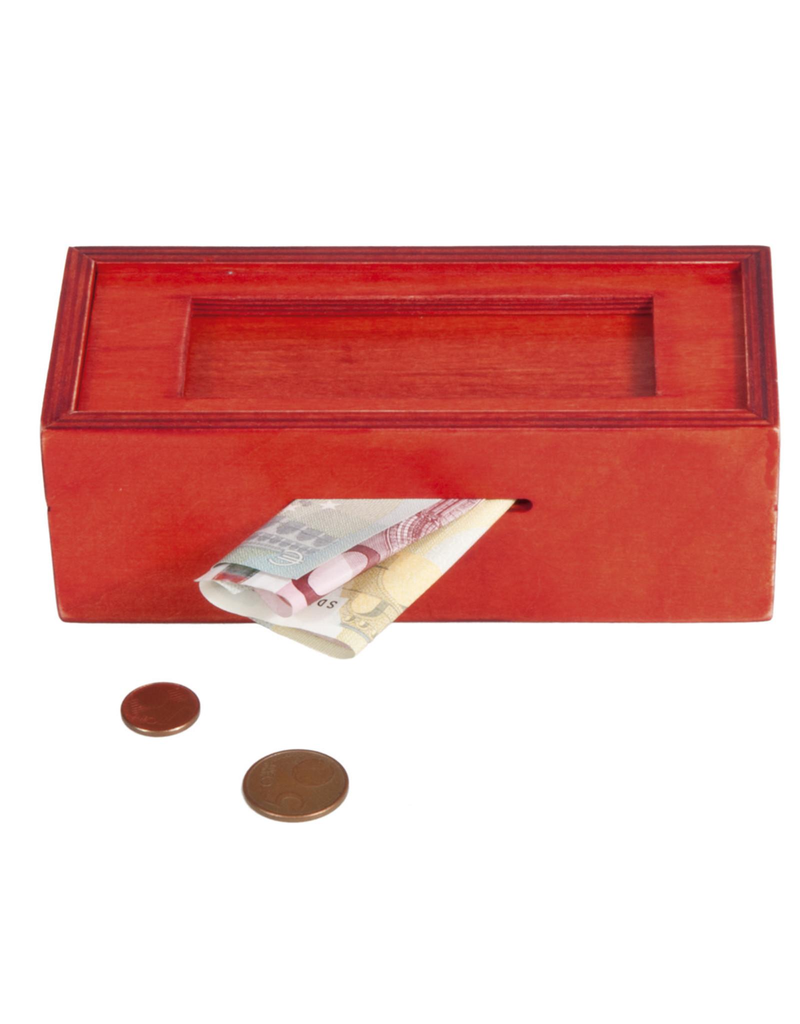 Fridolin IQ Test: Trick Box for Money