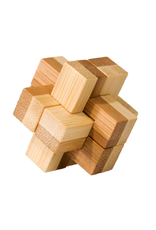 Fridolin IQ-Test: Small Bamboo Puzzle Series 2