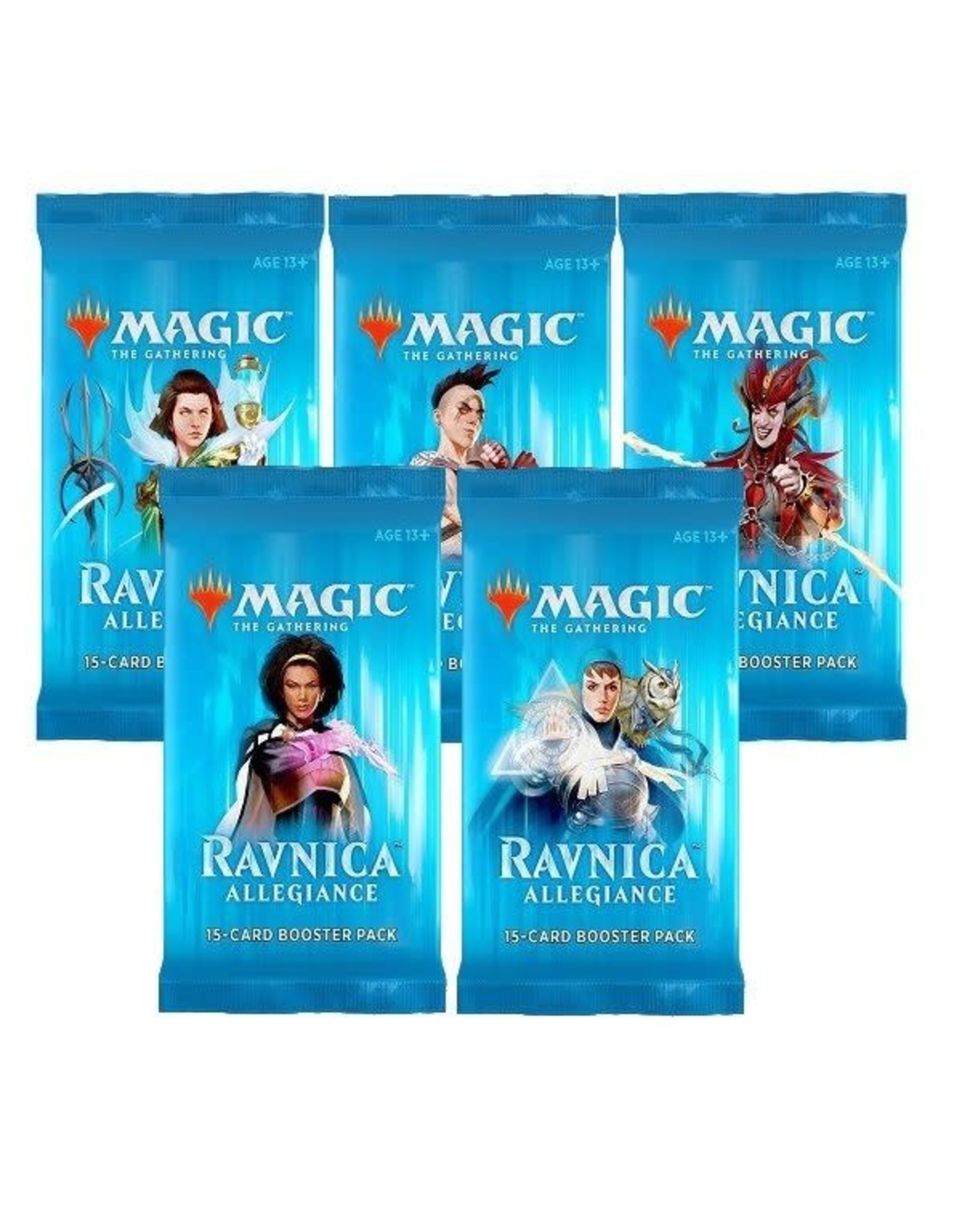 Wizards of the Coast MtG: Ravnica Allegiance Booster Pack