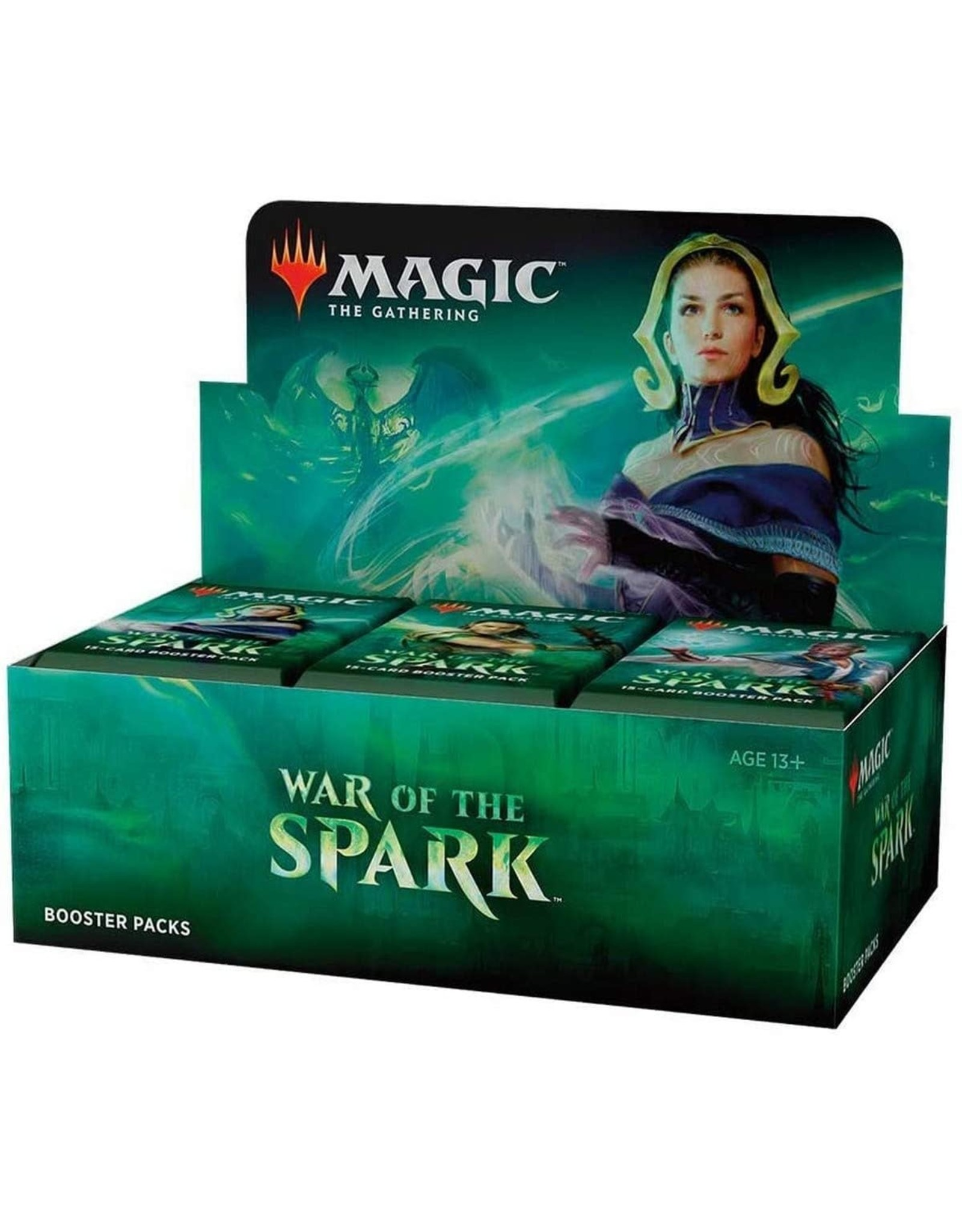 Wizards of the Coast MtG: War of the Spark Booster Box