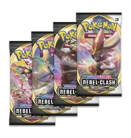 The Pokemon Company Pokemon: Rebel Clash Booster Pack
