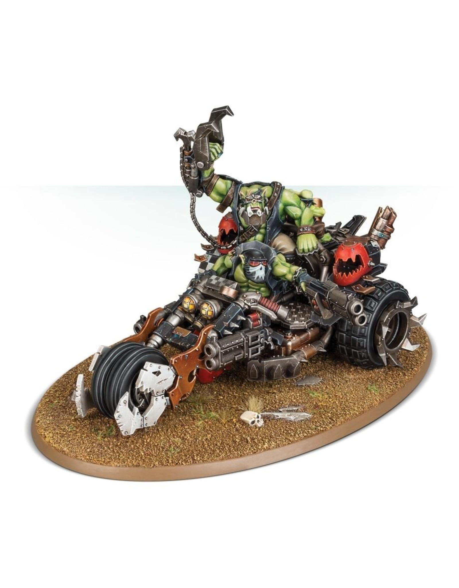 Games Workshop Ork: Deffkilla Wartrike
