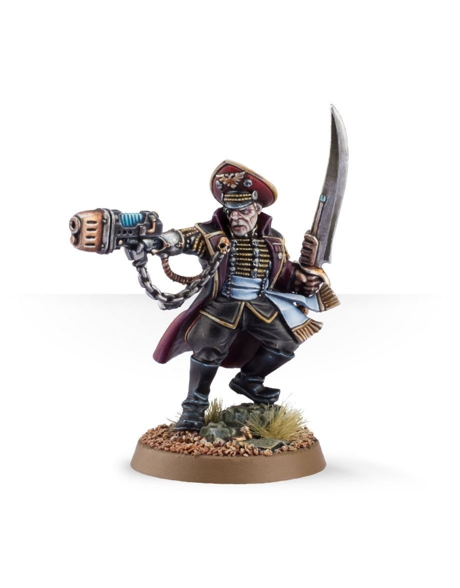 Games Workshop Officio Prefectus Commissar