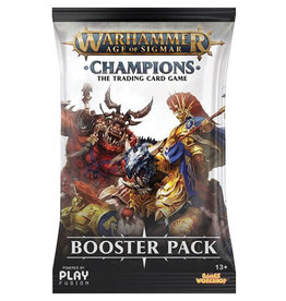 Playfusion, INC Warhammer: Age of Sigmar TCG - Champions Booster Pack