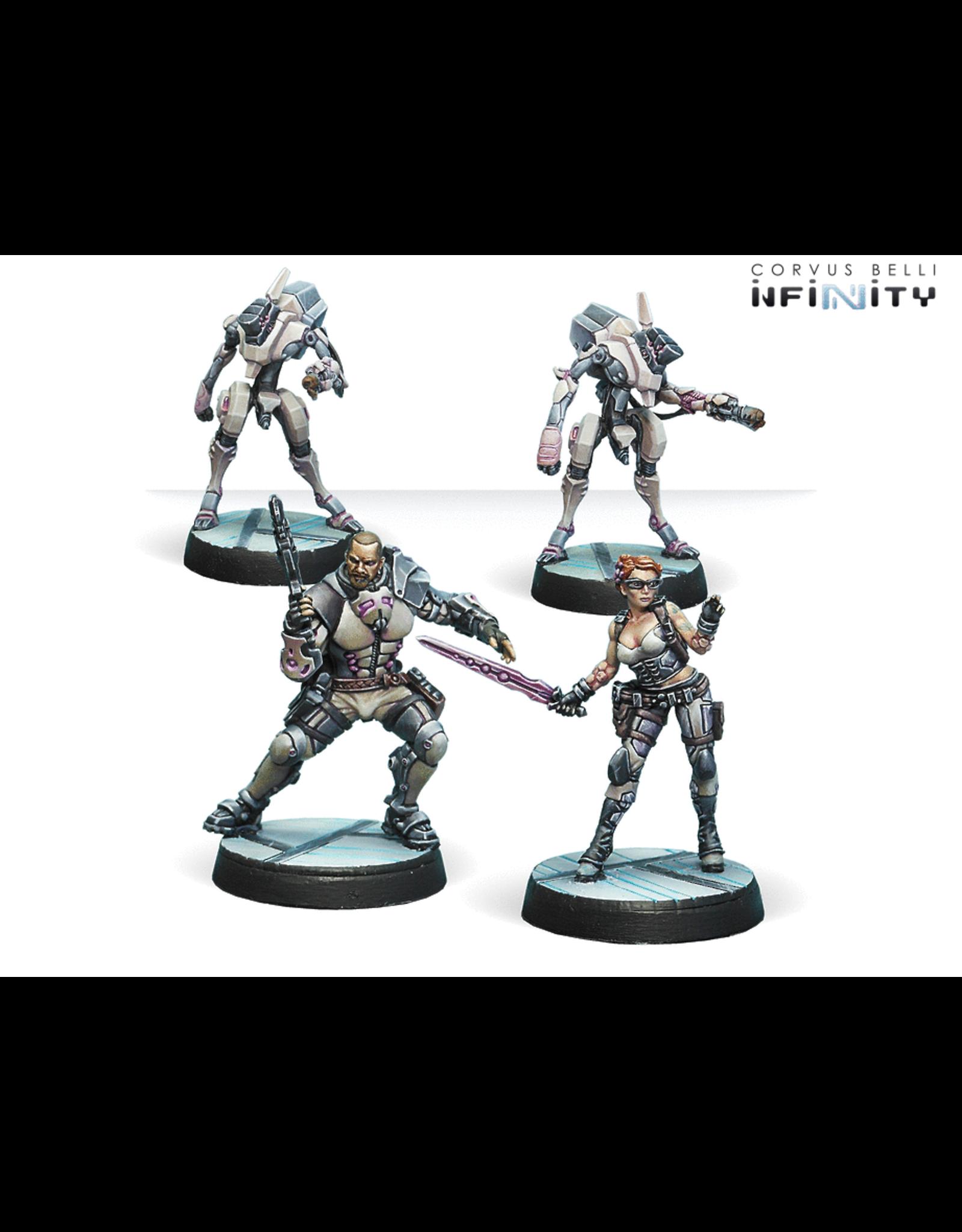 Corvus Belli Infinity: Drakios and Scylla, Steel Phalanx's NCO