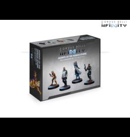 Corvus Belli Infinity: Agents of the Human Sphere (RPG Characters Set)