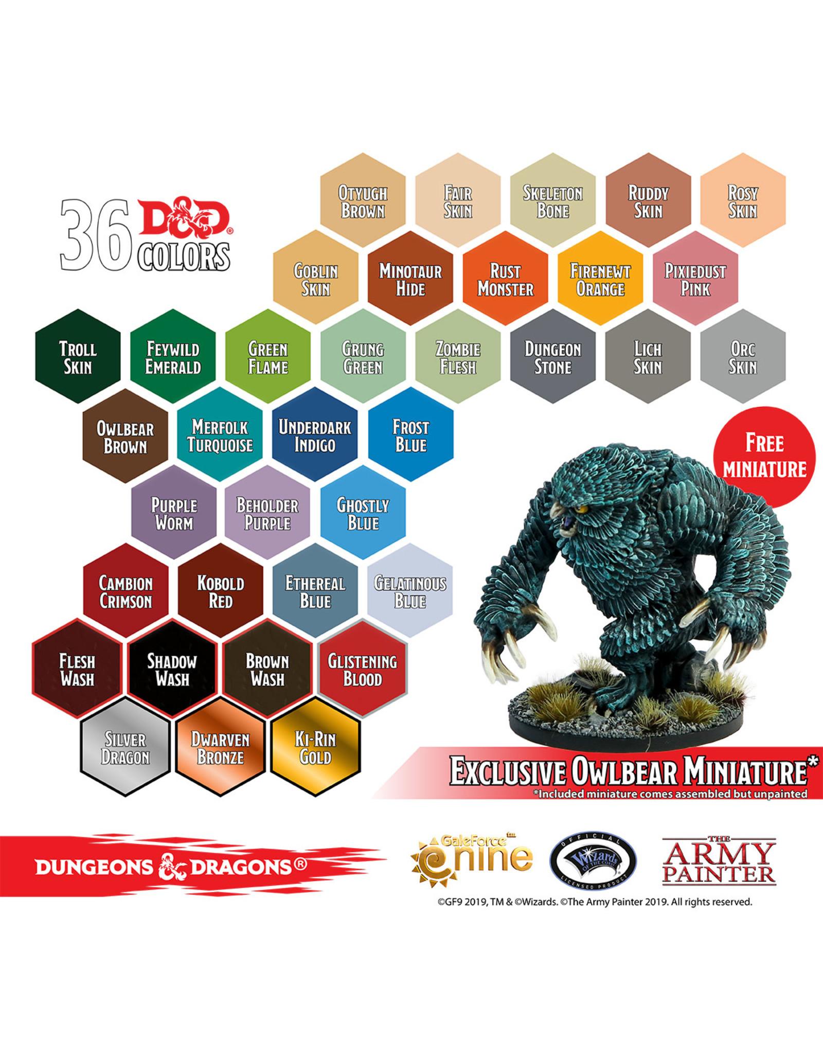 Army Painter D&D Paint Sets