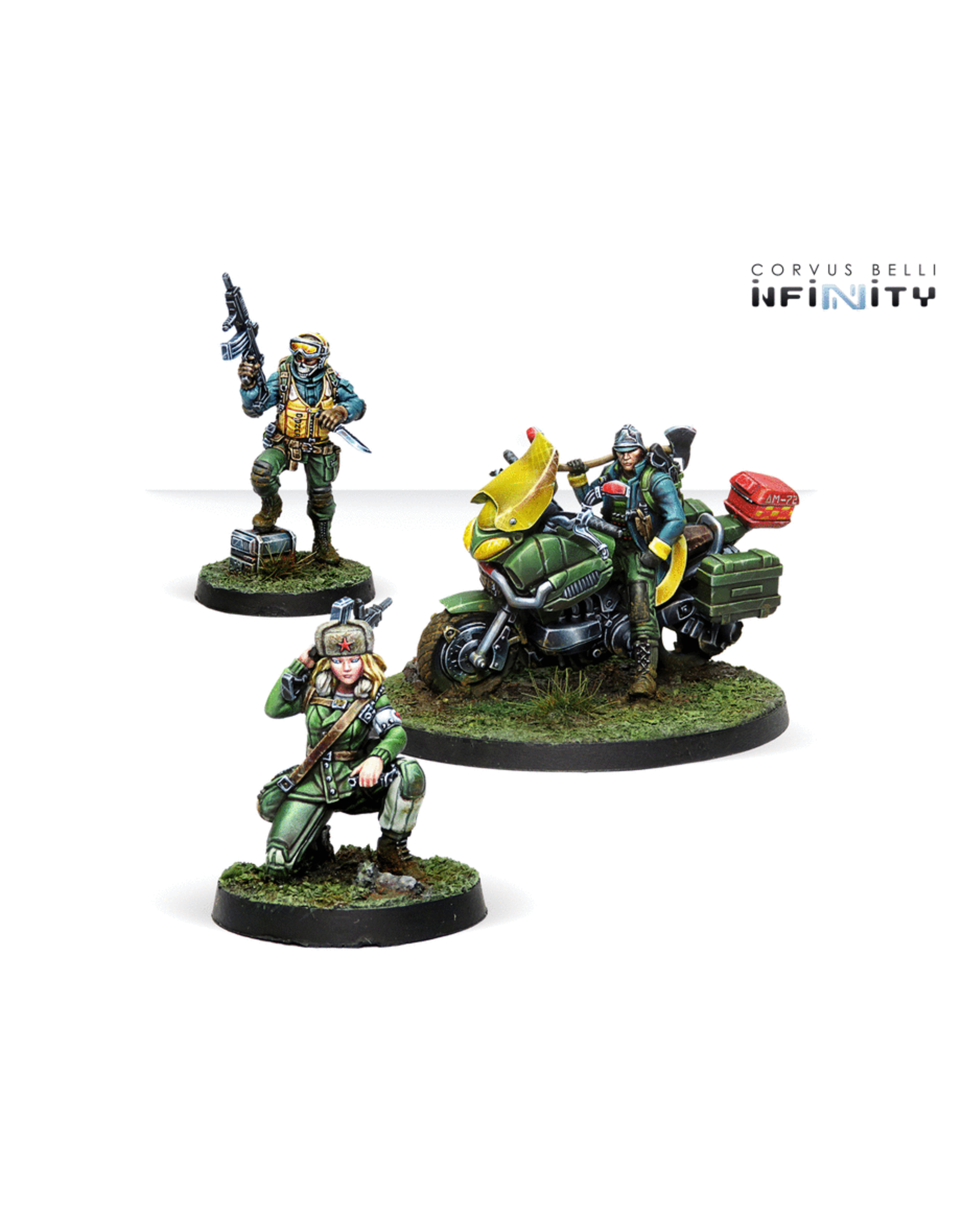 Corvus Belli Infinity: Ariadna Support Pack