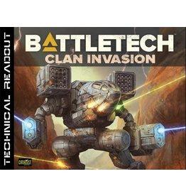 Catalyst Game Labs BattleTech: Tech Readout Clan Invasion