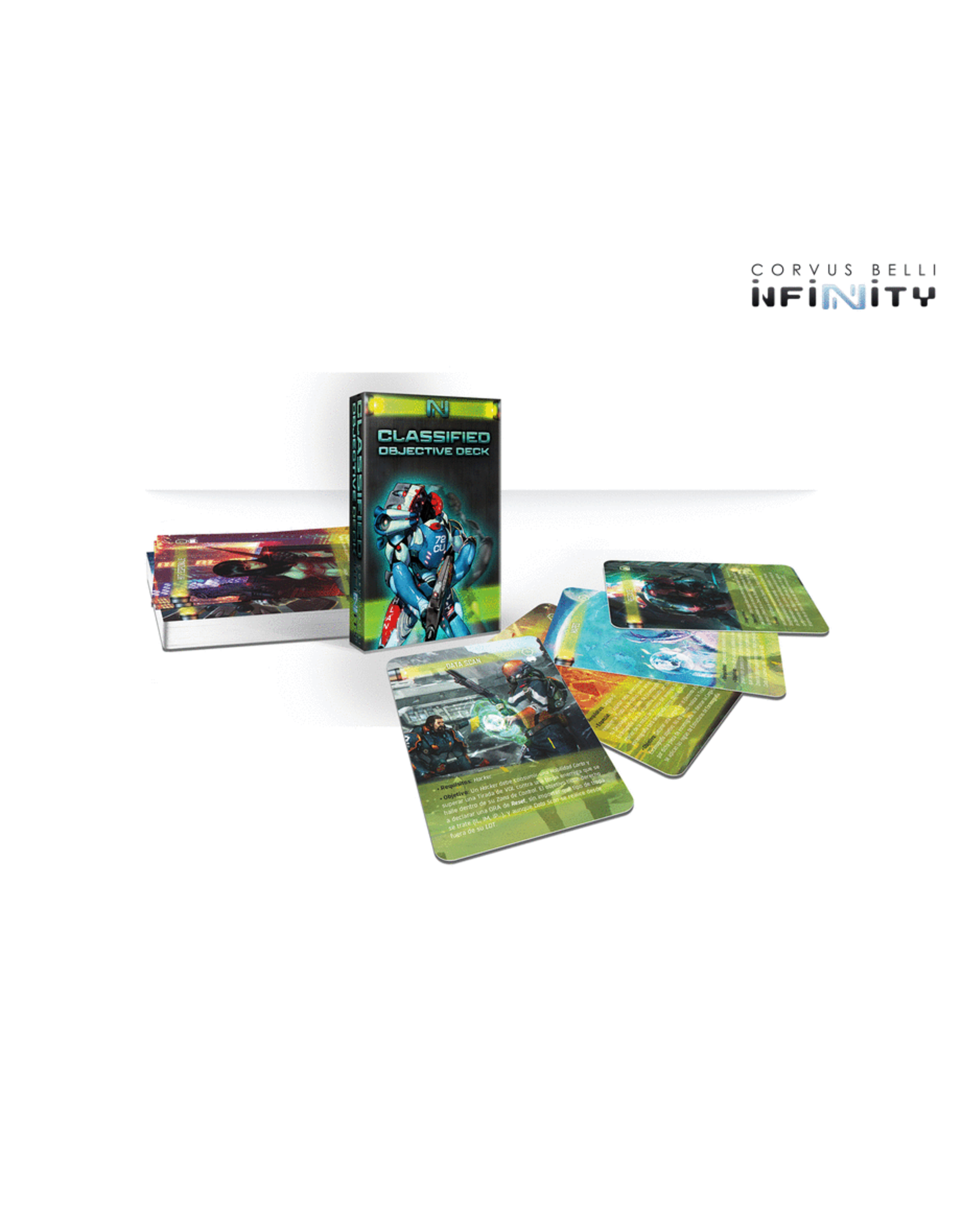 Corvus Belli Infinity: Classified Objective Deck - Season 10