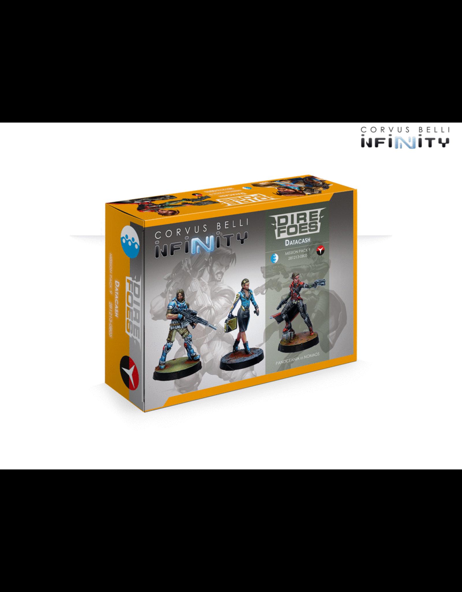 Corvus Belli Infinity: Dire Foes 9: Datacash