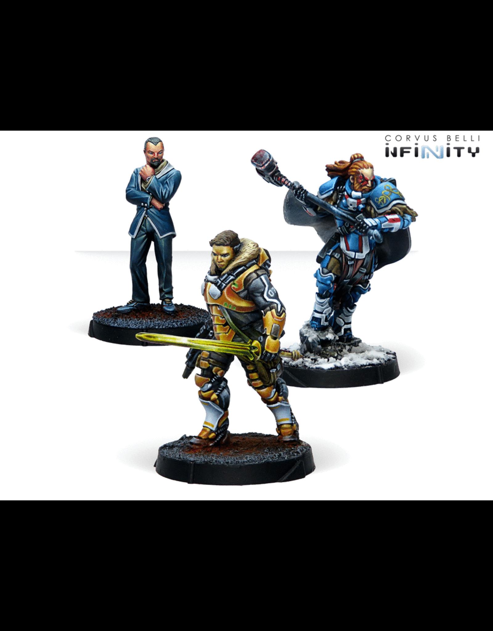 Corvus Belli Infinity: Dire Foes Alpha: Retaliation