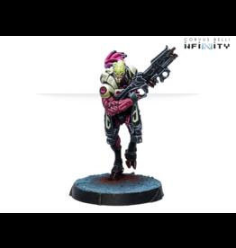 Corvus Belli Infinity: Shasvatii Seed Soldier