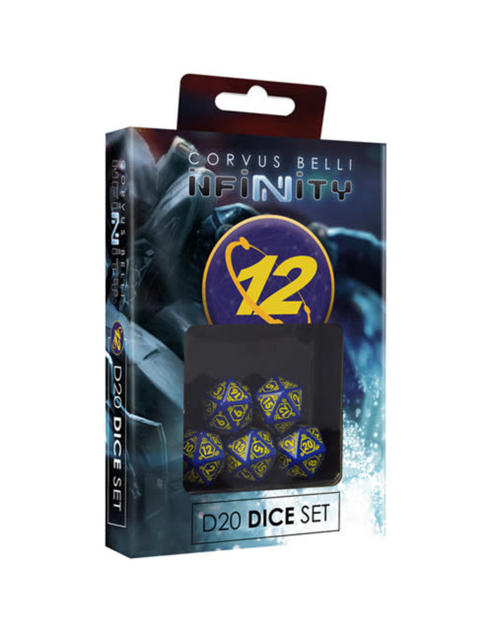 Corvus Belli Infinity: 0-12 D20 Dice Set