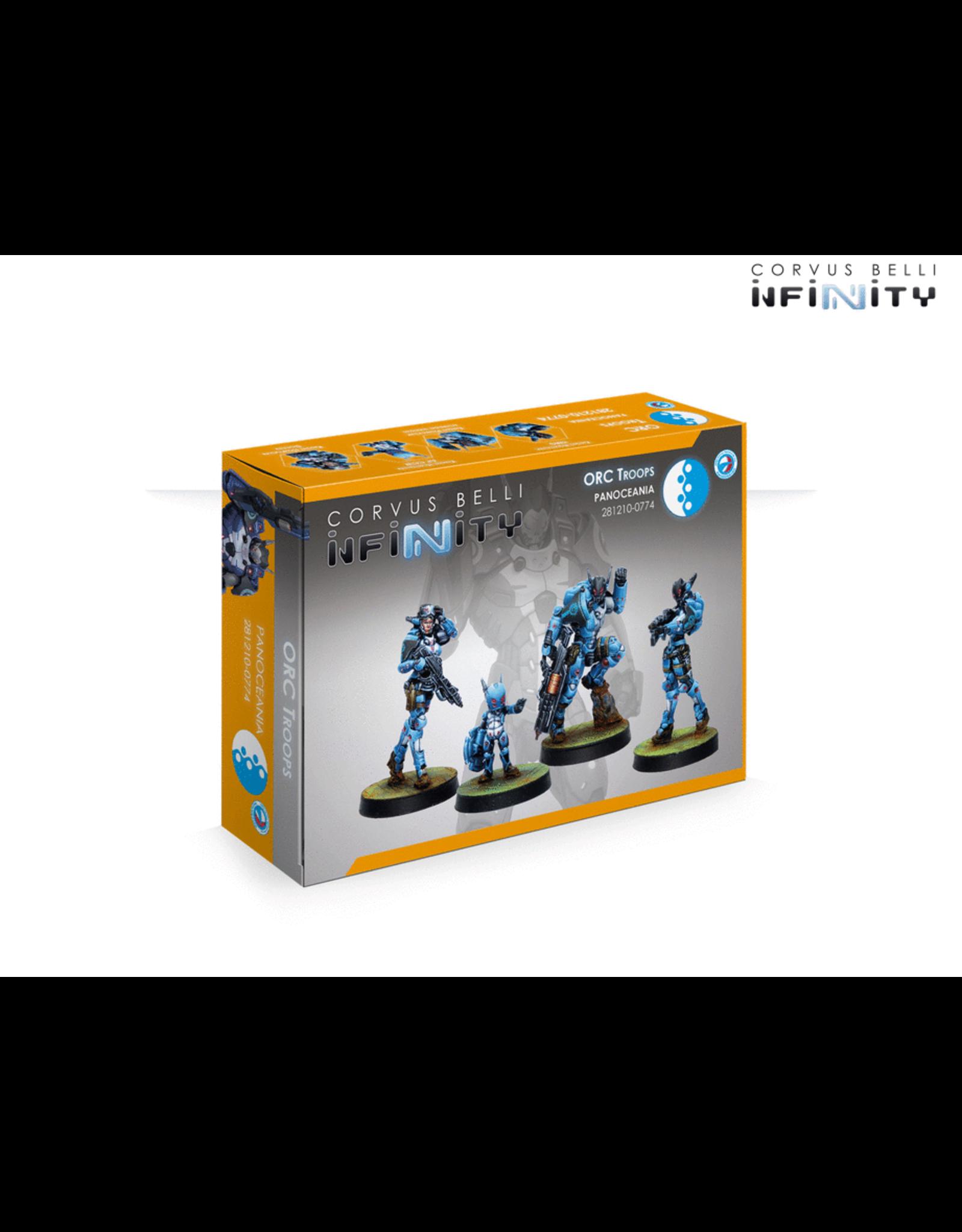 Corvus Belli Infinity: ORC Troops