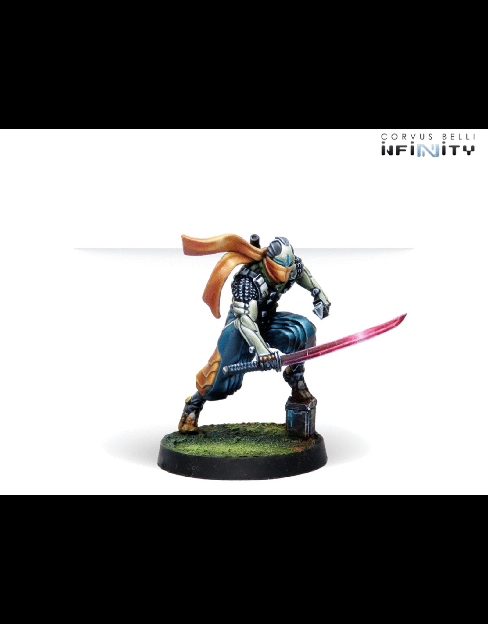 Corvus Belli Infinity: Saito Togan, Mercenary Ninja