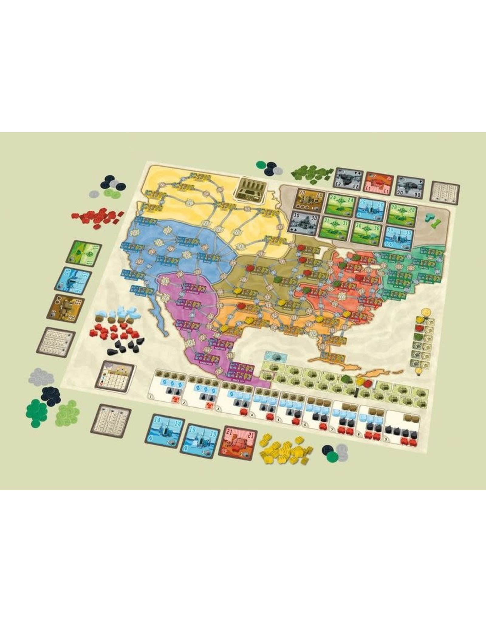 Rio Grande Games Power Grid Deluxe: Europe/North America