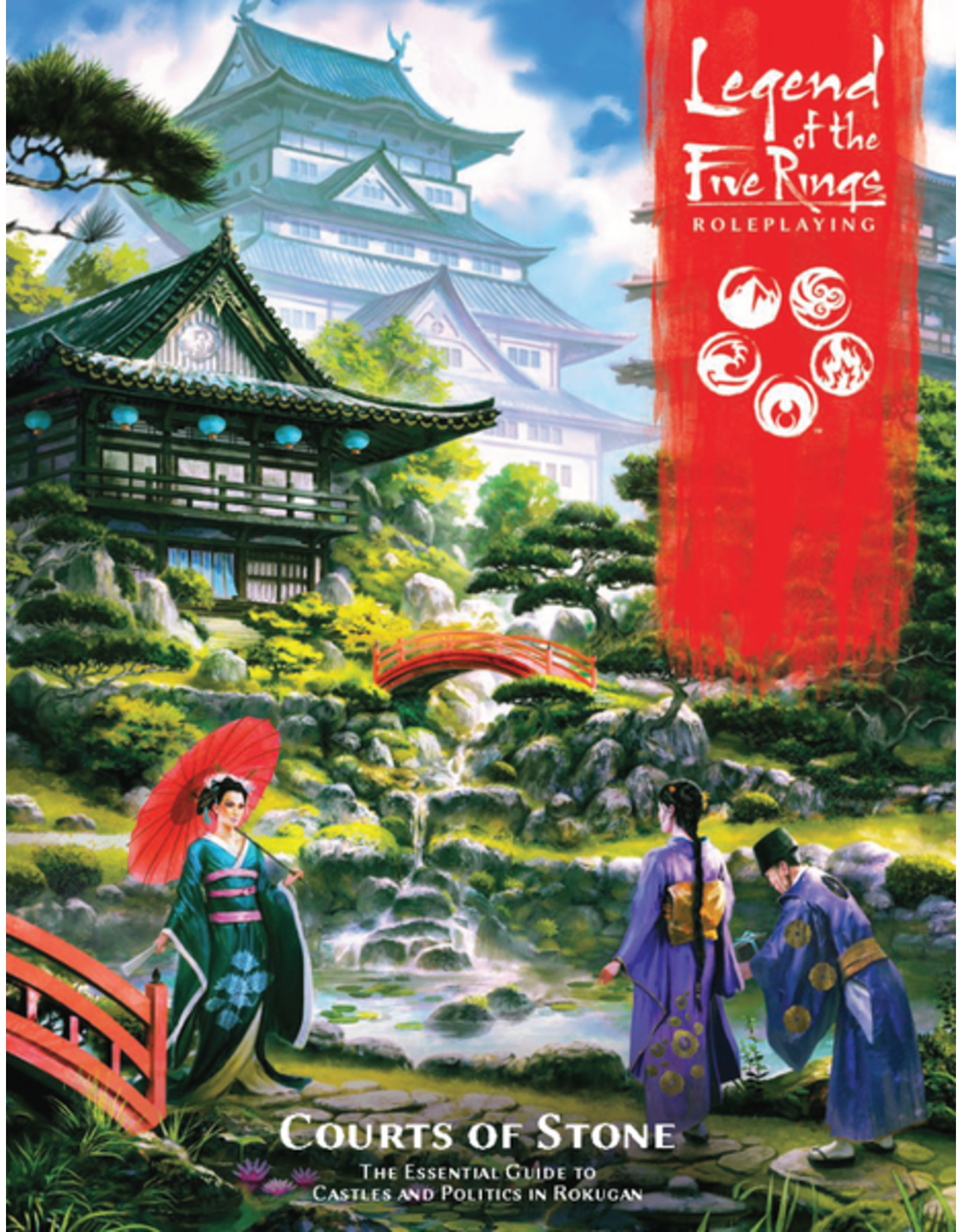 Fantasy Flight Games Legend of the Five Rings 5E: Courts of Stone