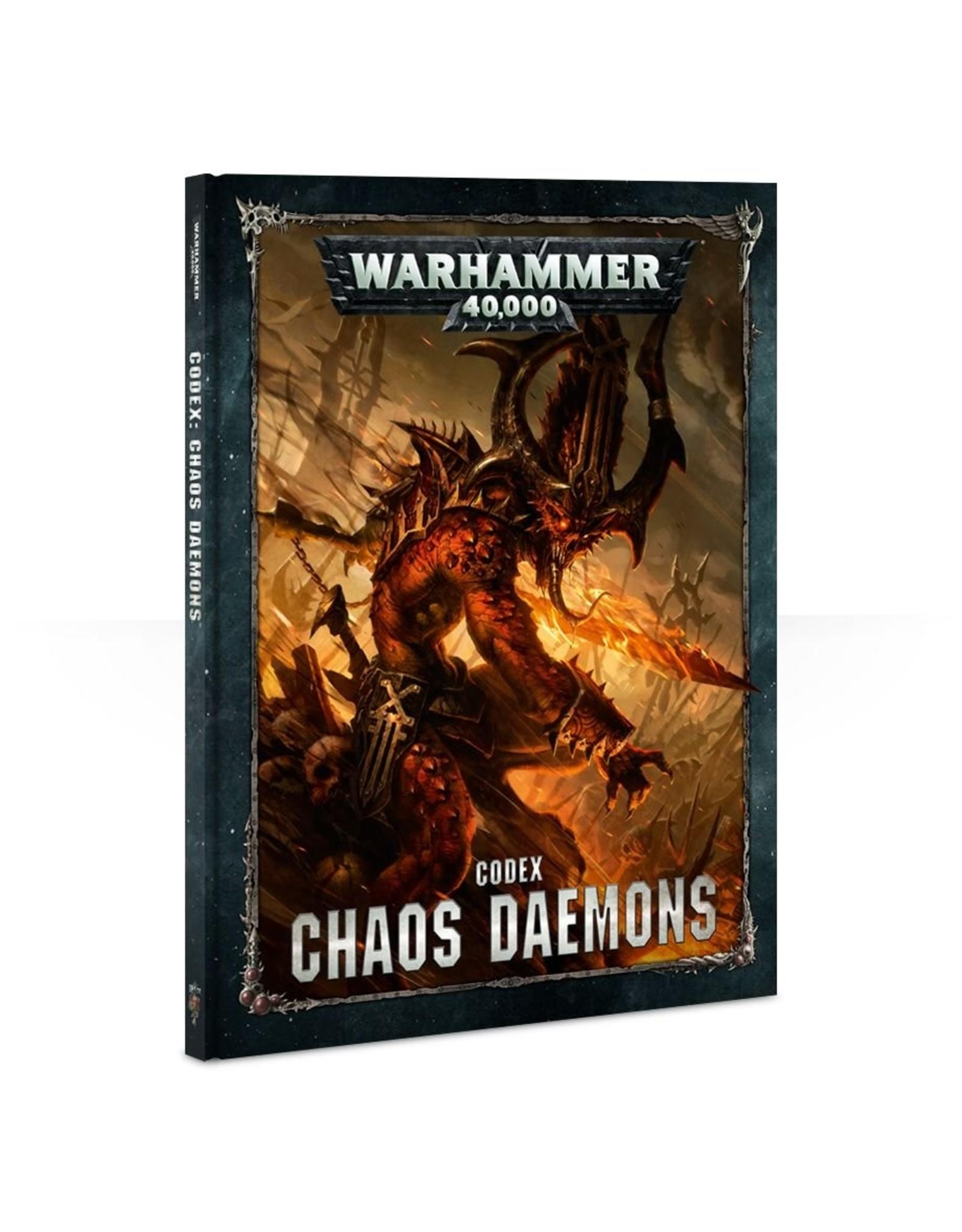 Games Workshop Chaos Daemons: 8th Ed Codex