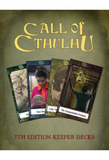 Chaosium Call of Cthulhu 7E: Keepers Decks