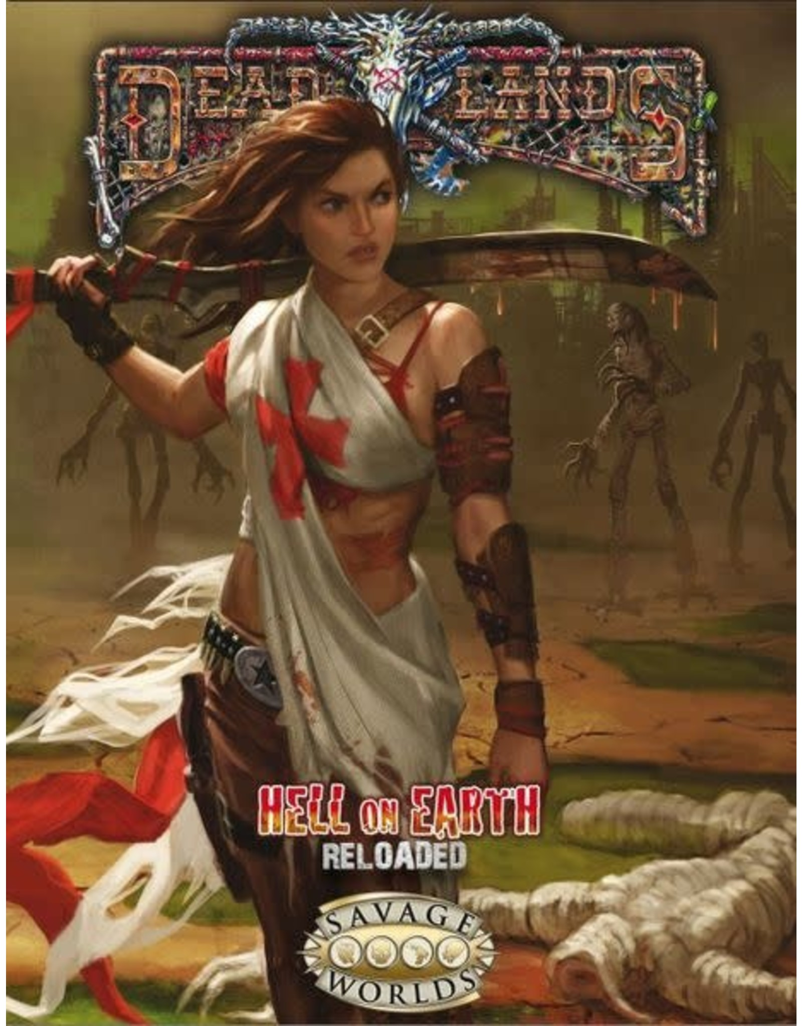 Pinnacle Entertainment Group Savage Worlds: Deadlands - Hell on Earth: Reloaded