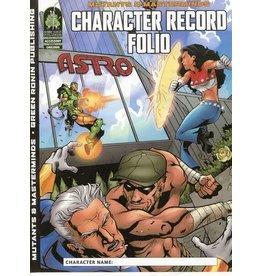 Green Ronin Publishing Mutants & Masterminds 1E: Character Record Folio