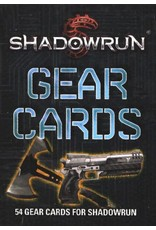 Catalyst Game Labs SALE Shadowrun 5E: Gear Cards