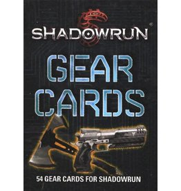 Catalyst Game Labs Shadowrun 5E: Gear Cards