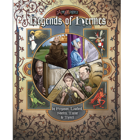 Atlas Games Ars Magica 5E: Legends of Hermes