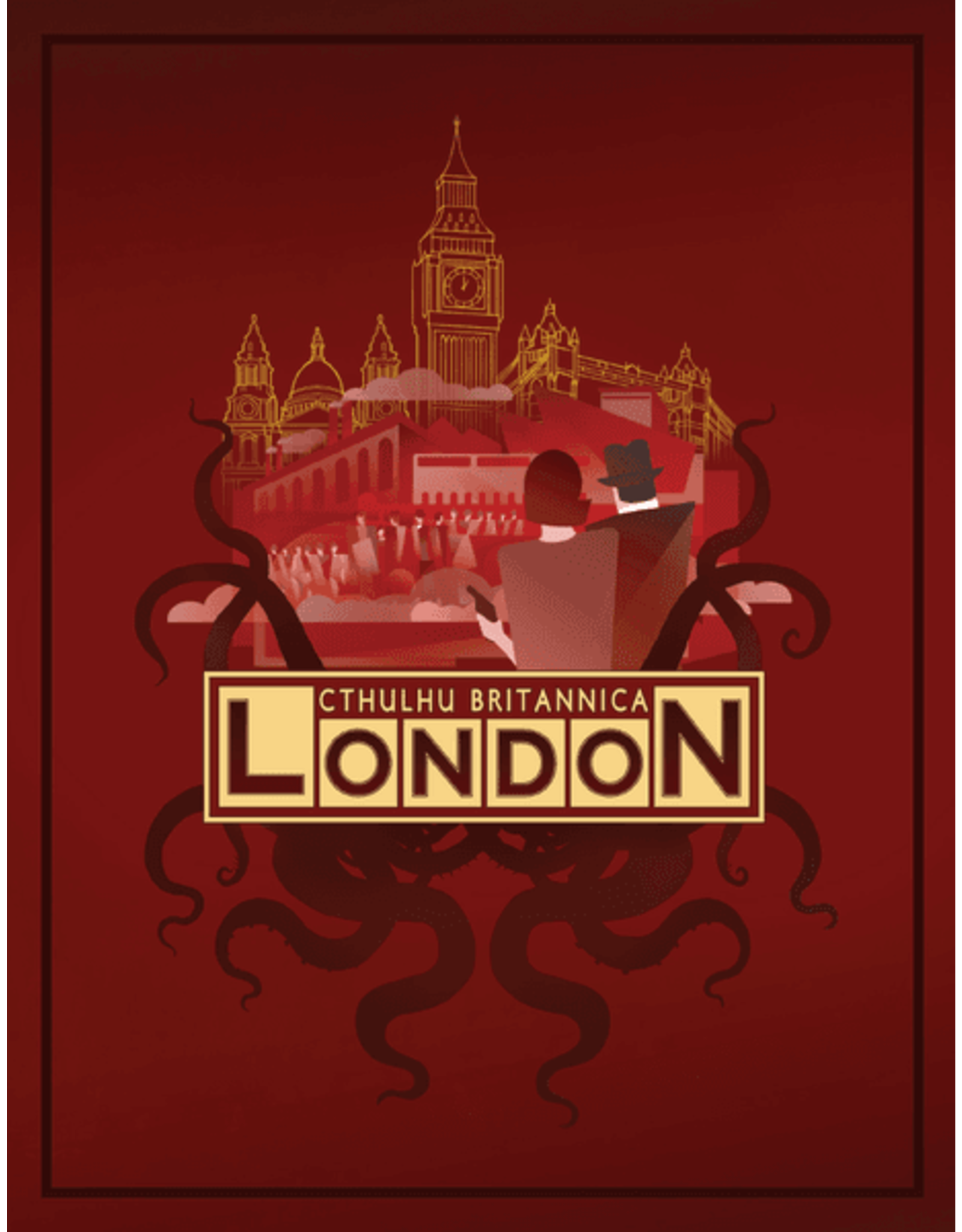 Cubicle 7 Call of Cthulhu 7E: Cthulhu Britannica - London